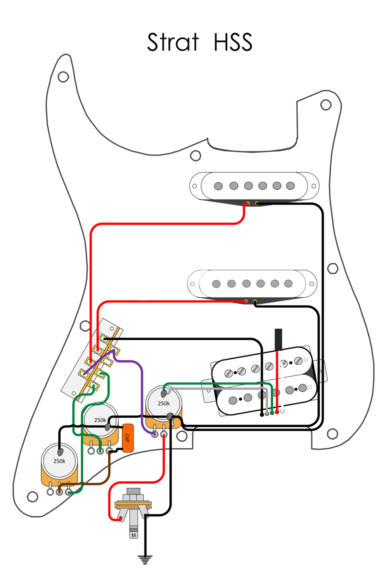 Wiring Diagrams - Blackwood Guitarworks | Guitar Wiring Diagrams Hss |  | Blackwood Guitarworks