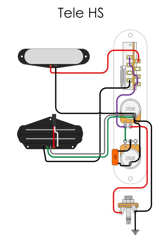 Tele HS wiring diagram